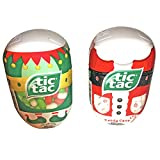 Two Pack Of Holiday Tic Tacs! 200 Mints Per Container! Candy Cane! Merry Elf Mix! Resealable Containers! Yummy Holiday Treat!