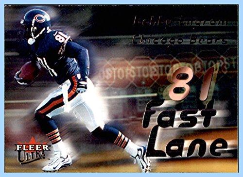2000 Ultra Fast Lane #7 Bobby Engram CHICAGO BEARS PENN STATE NITTANY LIONS
