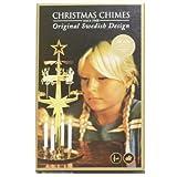 Original Swedish Angel Chimes Santa Brass