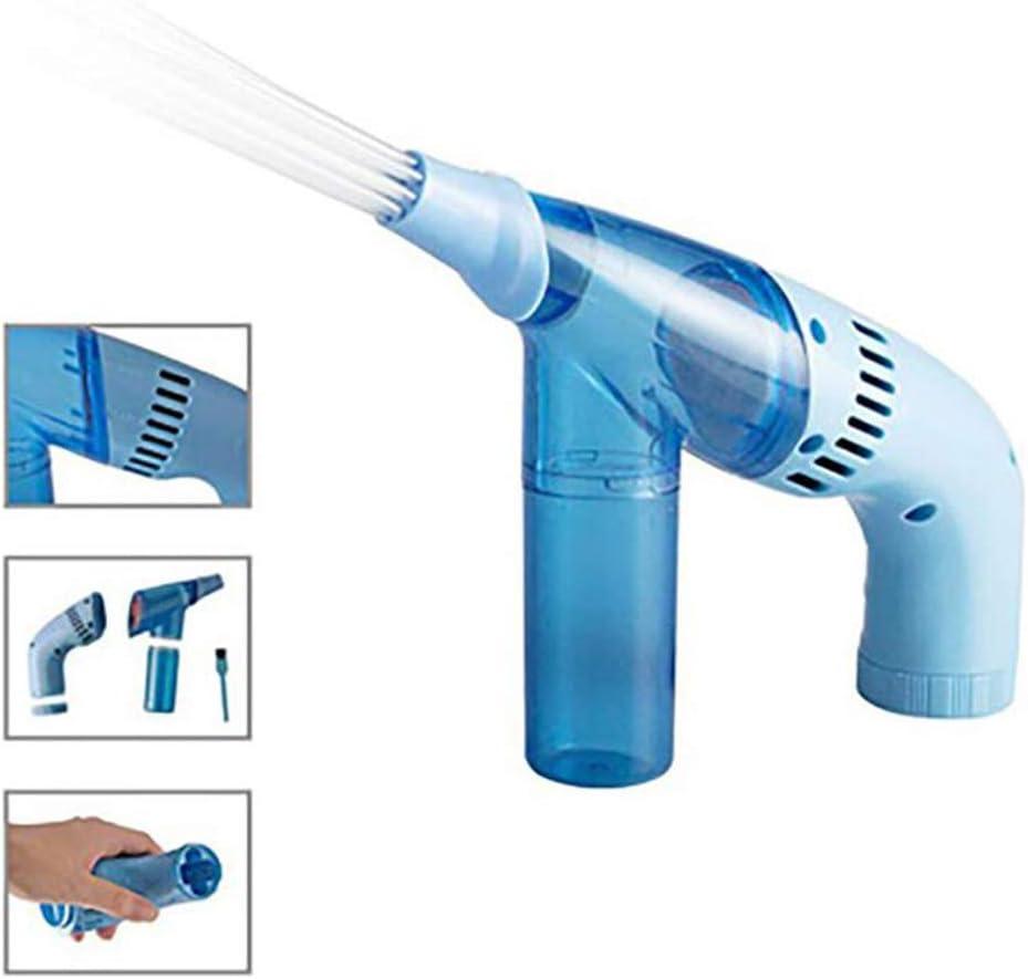 GLXLSBZ Aspiradora Sin Cable,Mini Aspirador, Mano portátil Limpiador Multifuncional de Polvo de Paja para máquinas, oficinas, colectores de Polvo domésticos