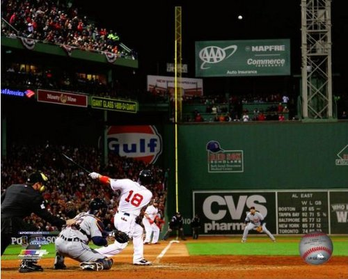 Shane Victorino Boston Red Sox 2013 ALCS Grand Slam Photo 8x10 -