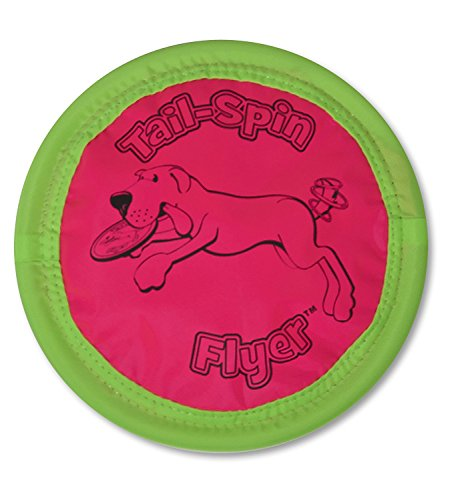Floppy Disc Soft Bite Flying Disc Toy 10″ for Dogs