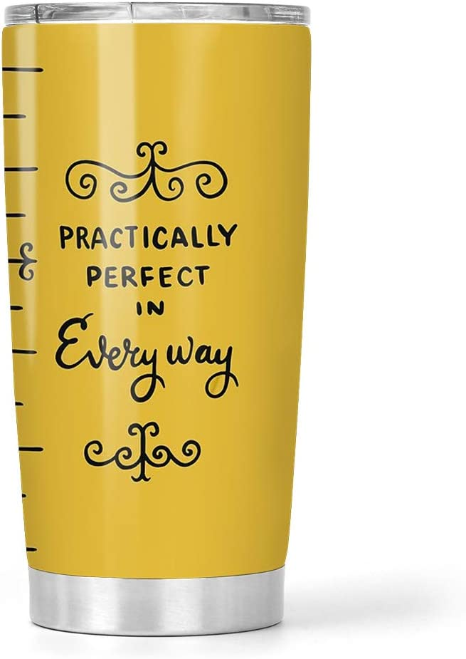 NEW POST MARY POPPINS QUOTE PRACTICALLY PERFECT IN EVERY WAY DODO BOOK MUG