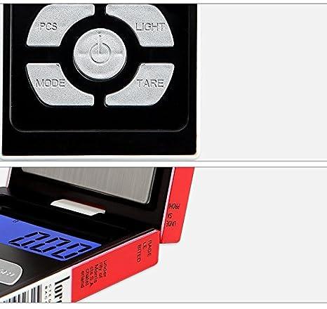 CGOLDENWALL Precisi/ón Mini joyer/ía Escala Cigarrillo Estilo Plegable B/áscula Electr/ónica Port/átil Carat Balance Digital Mini Escala 0,01 g//0,1 g T/é Oro L/ápiz Labial Pesos Electr/ónicos