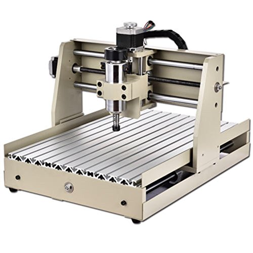 Power Milling Machines by Feiuruhf,400W CNC Router Engraver Engraving Cutting 4 AXIS 3040 300X400MM Machine Milling Drilling Milling Machine ()