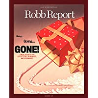 Robb Report Magazine Subscription 1 Yr 12 Issues Deals