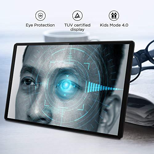 Lenovo Tab M10 FHD Plus Tablet (10.3-inch, 4GB, 128GB, Wi-Fi + LTE, Volte Calling), Platinum Grey