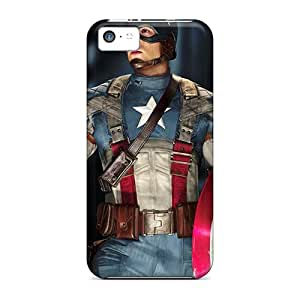 Iphone 5c Cover Case - Eco-friendly Packaging(captain America)