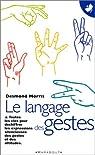 Le langage des gestes par Morris
