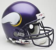 Victory Collectibles 30121 Rfa Minnesota - Vikings Full Size Authentic Helmet