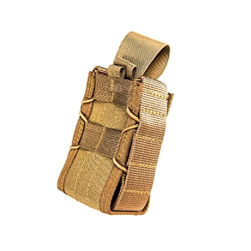 High Speed Gear 11SG00CB Coyote Brown TACO MOLLE-Mount Stun Gun Pouch