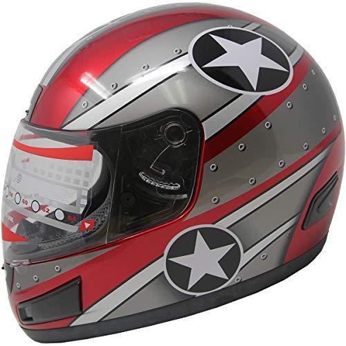 Full Face Motorcycle Sports Bike Helmet DOT
