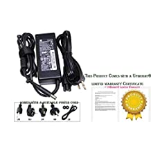 Bundle: 3 items - Adapter/Power Cord/Carry Bag:Original HP Smart Pin 90W AC Adapter Power Cord for HP:609939-001,609940-001,609947-001,609948-001,616072-001,ADP-65HB BC,ED494AA,ED494AA#ABA,Compatible with 463955-001.