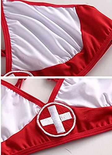 46213518f M Eshop Women Sexy Nurse Lingerie Bedroom Naughty Nurse Costume Cosplay  Uniform With Stockings