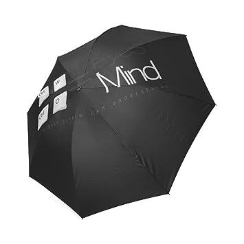 wokfox sólo Geek puede entender plegable personalizado paraguas plegable paraguas