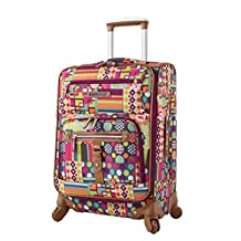 """Lily Bloom 20"""" Exp Spinner Luggage"""