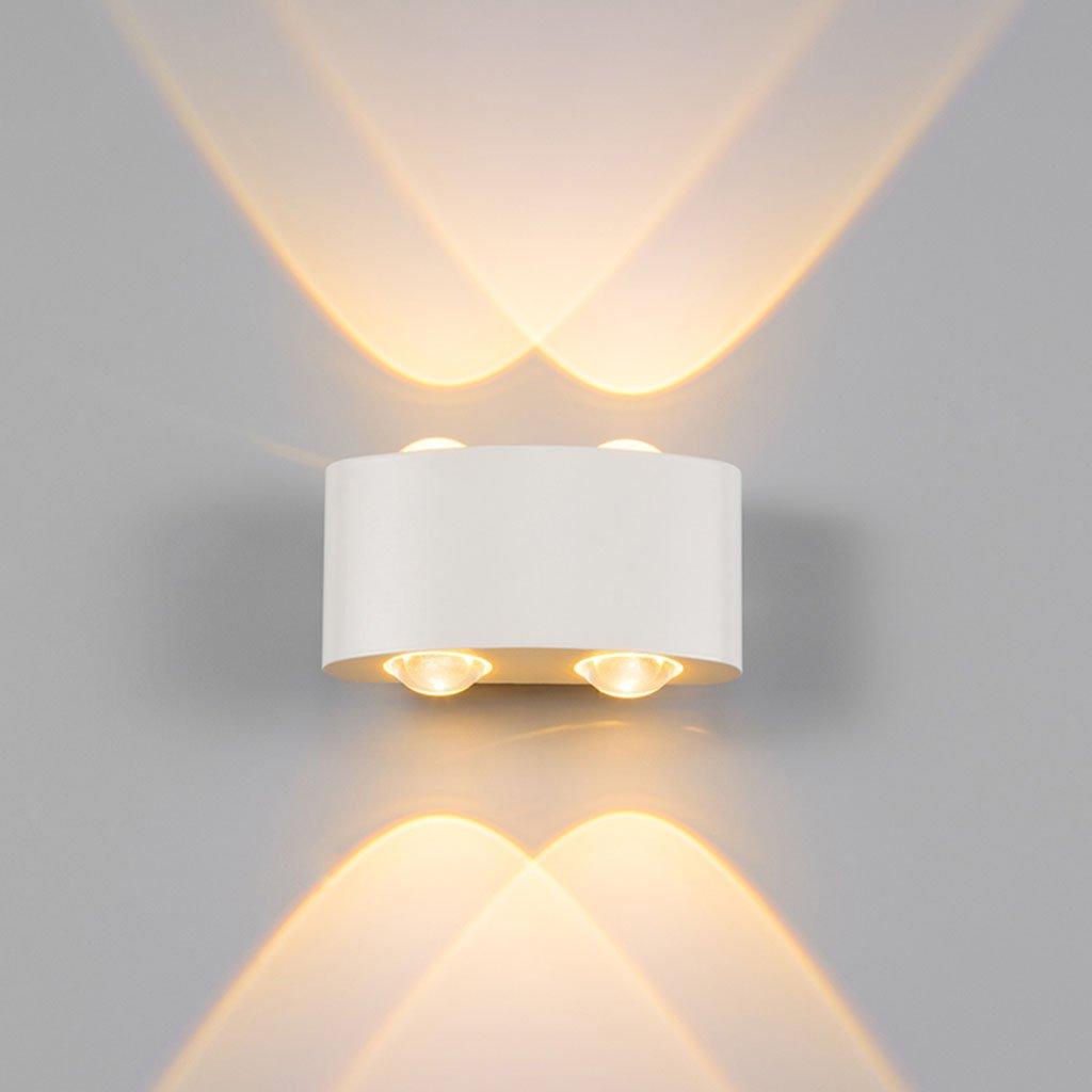 Wandleuchte lampe Wandleuchte IED Moderne minimalistische Outdoor Wandleuchte Schlafzimmer Nachttisch wasserdichte Wandleuchte Fashion Art Wohnzimmer Beleuchtung Outdoor Persönlichkeit Wandleuchte
