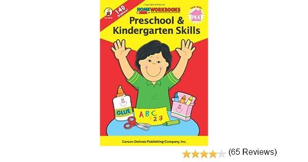 Workbook cutting worksheets : Preschool & Kindergarten Skills (Home Workbooks): Carson-Dellosa ...