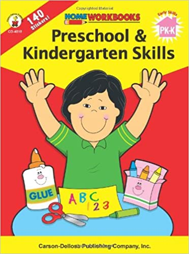 Preschool & Kindergarten Skills (Home Workbooks): Carson-Dellosa ...