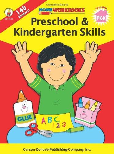 Preschool & Kindergarten Skills (Home Workbooks): Carson-Dellosa ...