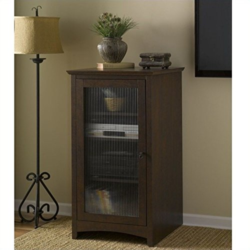 Bush Furniture Buena Vista Media Cabinet in Madison ()