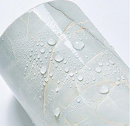 Wallpaper Borders Green Marble Paper Diy Self Adhesive