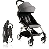 BabyZen 2016 Yoyo+ Stroller Bundle - White Frame + Color Pack (Grey2)