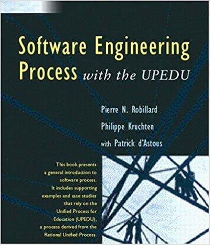 software engineering process with the upedu book