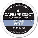CAFESPRESSO Italian Roast Blend for K Cup Keurig 2.0 Brewers, 42Count, Dark Roast Single Serve Coffee Pods, 42Count (Packagin