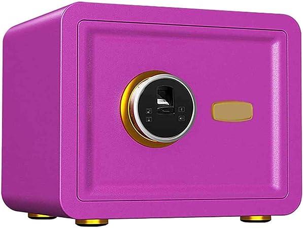 TQMB-A Caja Fuerte con la Huella Digital, el gabinete portátil Inicio/Viajes Pequeño Armario de Seguridad para mesita de Noche, Color Opcional,4: Amazon.es: Hogar
