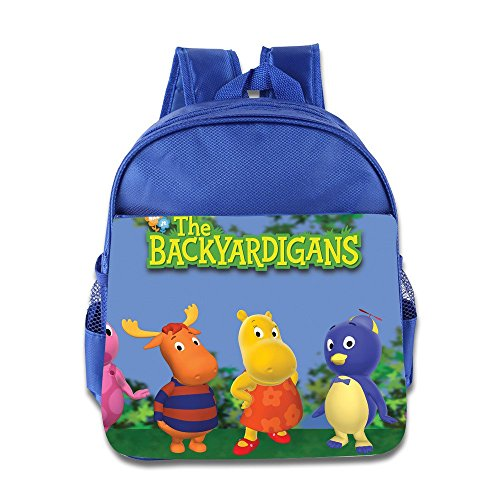 Toddler Kids The Backyardigans School Backpack Cartoon Children School Bags RoyalBlue