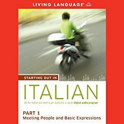 Starting Out in Italian, Part 1