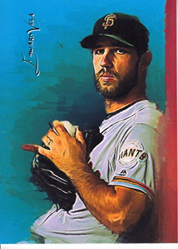 Madison Bumgarner #7 - #1/25 - VERY RARE - FIRST CARD in Set - WORLD SERIES - San Francisco Giants - BUY IT NOW OR MAKE AN OFFER - Limited Edition Original Artwork Sketch Card