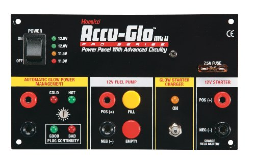 Hobbico ACCU-GLO II Power Panel (Glow Box Starter Panel)