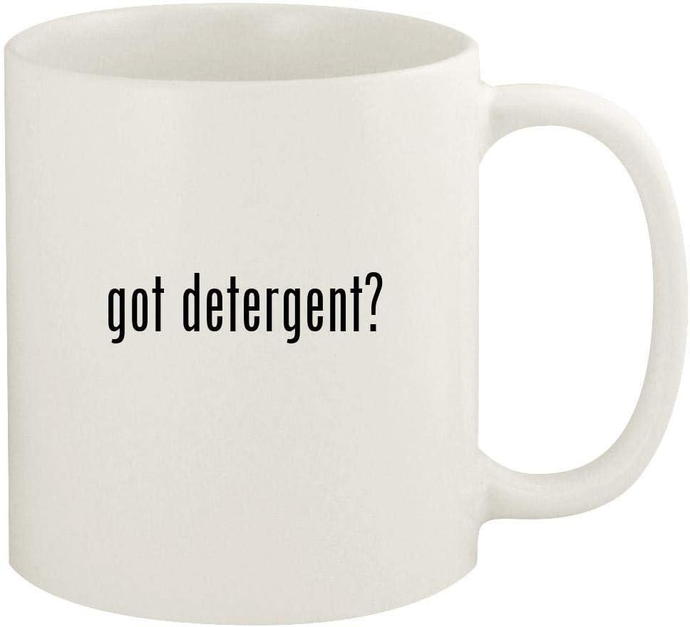 got detergent? - 11oz Ceramic White Coffee Mug Cup, White