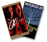 Independence Day/X Files:Movie [VHS]