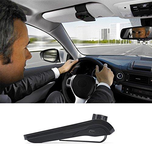 EinCar Pupug Wireless Bluetooth Car Kit Speaker Speakerphone Handsfree Stereo Music Player USB Mp3