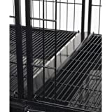ProSelect 23-1/2-Inch Steel Modular Dog Cage Tray Connector, Black