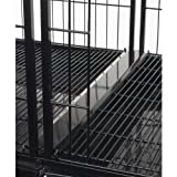 dog modular cage - Pro Select 23-1/2-Inch Steel Modular Dog Cage Tray Connector, Black