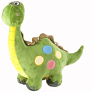 "Marsjoy 16"" Green Stuffed Dinosaur Plush Stuffed Animal Toy for Baby Gifts Kid Birthday Party Gift"