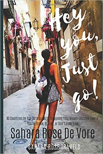 The Hey You, Just Go! by De Vore, Sahara Rose travel product recommended by Sahara Rose De Vore on Pretty Progressive.