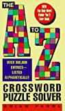 The A to Z Crossword Puzzle Solver, Brian A. Padol, 0380775182