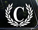 Letter C, LARGE SIZE, Decorative Monogram - 9