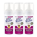 Little Remedies Sterile Saline Mist   2 oz   Pack of 3   For Noses to Breathe Easily   Gently Wash Away Mucus   Newborn Safe