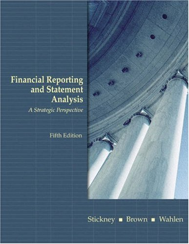 Price comparison product image Financial Reporting and Statement Analysis: A Strategic Approach