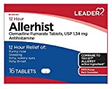 Leader Allerhist, 16 Tablets Each (Pack of 8)