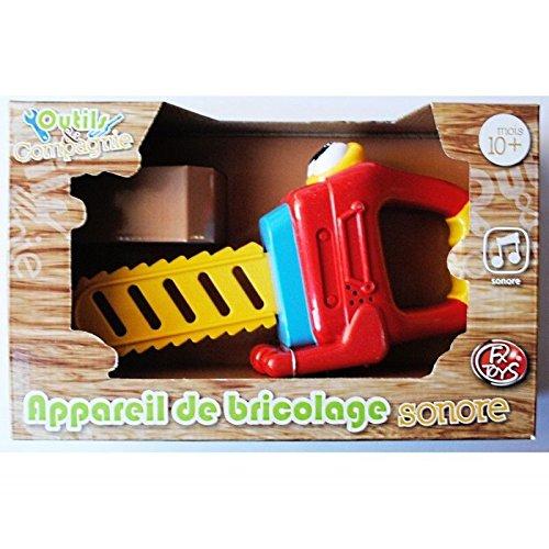 Spielzeug Kettensäge Seine Gerät von Mosaiken 1. Age