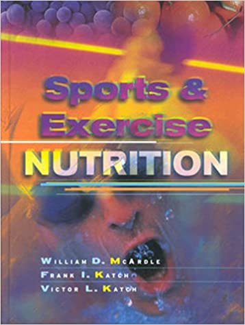 Sports And Exercise Nutrition 9780683304497 Medicine Health Science Books Amazon Com