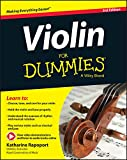 Violin For Dummies: Book + Online Video & Audio Instruction