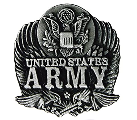 Pewter US Army 7/8 inch Hat or Lapel Pin